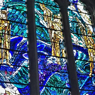 7.  The War Memorial Windows, The Parish Church of St Thomas the Martyr, Winchelsea, East Sussex