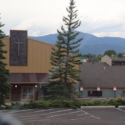 I liked that mountain and the church