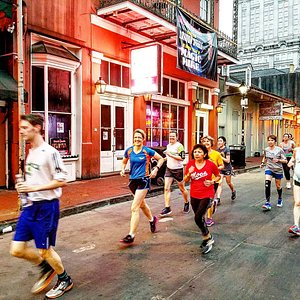 Bourbon St. in the morning