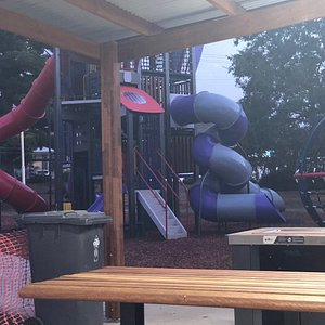 Picnic area and play gym