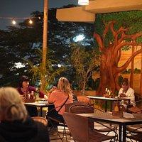 Diner Time at Full Power Restaurant