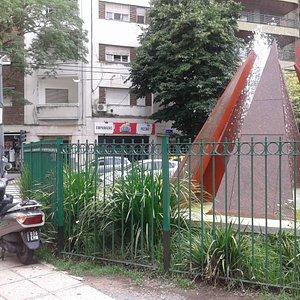 Plazoleta Monte Ararat: Villa Freud, Barrio Palermo- Bs.As. 2020.