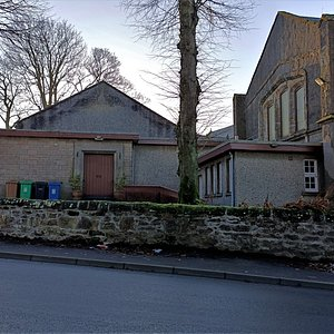 Rear of church and the church hall