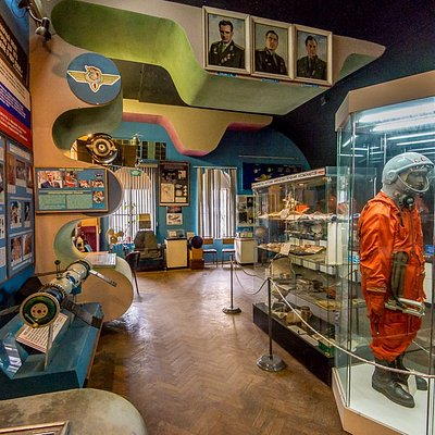 Зал космонавтики в ЦДАиК