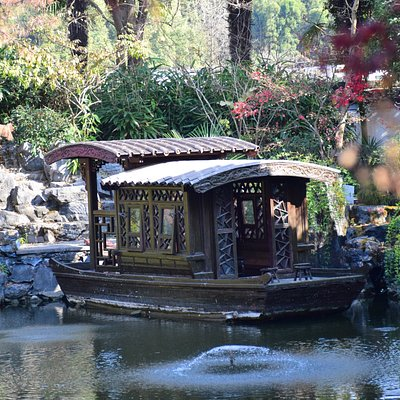 歸園的水池