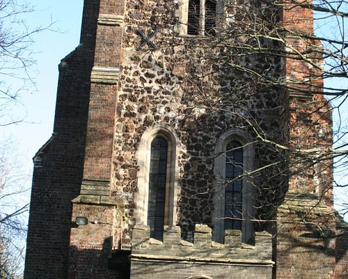 The 800 year old Church