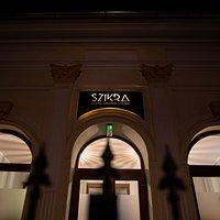 Szikra Restaurant Main Entrance