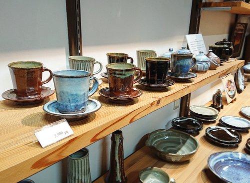 小代焼中平窯のコーヒーカップ