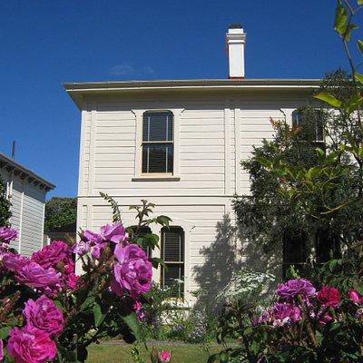 Katherine Mansfield House & Garden on Tinakori Road in the historic neighbourhood of Thorndon, Wellington.