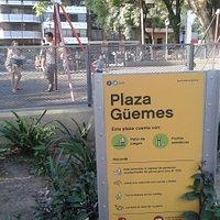 Plaza Güemes: Juegos Infantiles- Villa Freud, Barrio Palermo - Bs.As. 2020.