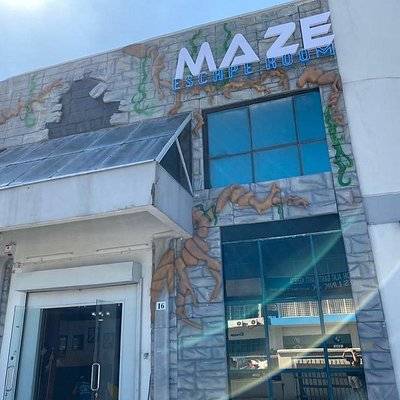 MAZE Escape Room is located in Bandar Sunway