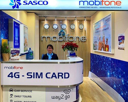 SASCO Travel Kiosk inside Tan Son Nhat airport