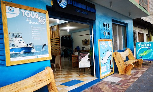 Portada principal Eco-Challenger Galápagos Tour Agency