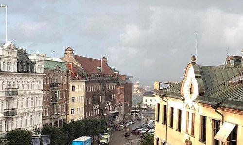 overlooking the city of Helsingor