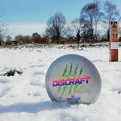 Disc Golf is Playable in all weather conditions