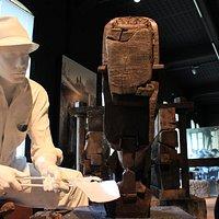 Interno del Museo dell'Arte Fabbrile e delle Coltellerie