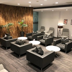 Relax in comfort with plenty of comfortable seats, our lounge offers and exclusive space for all travellers regardless of cabin class.  Unlimited WiFi access provided in lounge making it the perfect place to work for the business traveller.