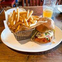 Howlin' Dave's Red Hot Chicken Sandwich
