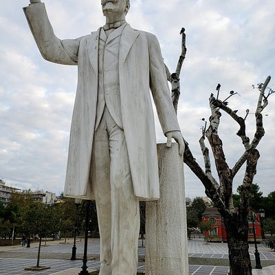 Statue of Eleftherios Venezelos, Thessaloniki, Greece: Statesman, Prime Minister.
