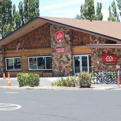 Big Bear Visitor Center new location