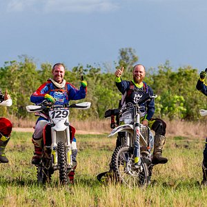 Riding with mates