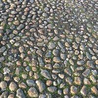 The memorial stones.