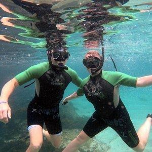 Snorkeling in Galápagos