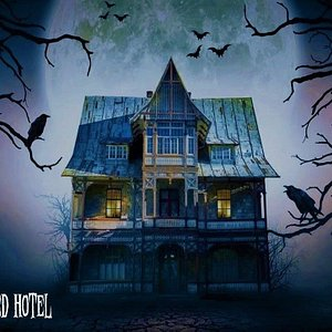 Our new room, Haunted Hotel - a fully immersive 60 minutes adventure into an old, haunted hotel. 100% automated, eerie/spooky atmosphere and full of special effects. Can you make it out?