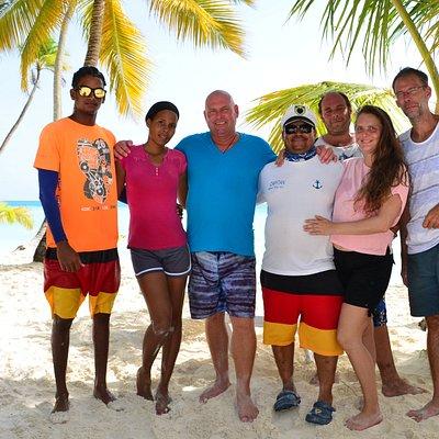 Das Team von Punta Cana auf Deutsch
