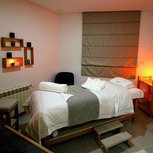 Une de nos cabines de massage