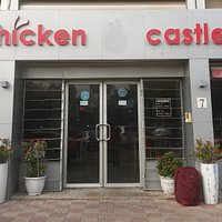 Entrance to Chicken Castle !🍗🏰