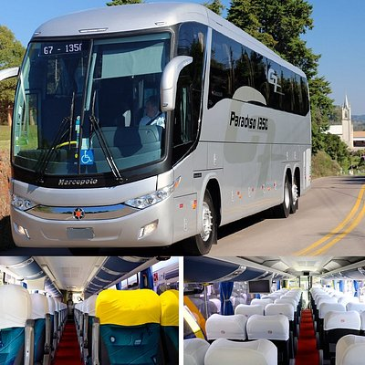 Executive Bus Rental in Rio de Janeiro and Sao Paulo - Brazil  great rates for groups and travel agencies.