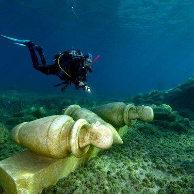 MuMart - Marine Underwater Museum of Art in Golfo Aranci Sardegna