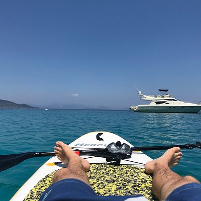 Snorkel & Sup = Relax