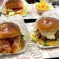 Goloso burger e Rustico burger