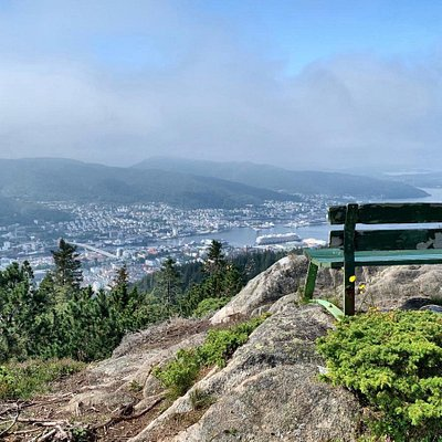 Experience Bergen from above.