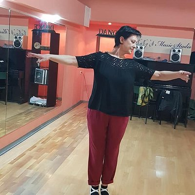 Amazing woman from russian. She learnt georgian dance Kartuli in one rehearsal. Still looks good in her 50s.