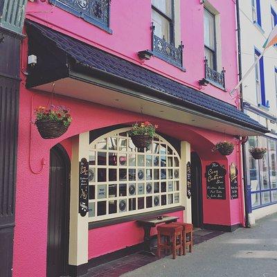 The pinkest pub in west cork