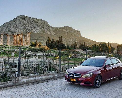 @Apollo temple, Ancient Corinth.