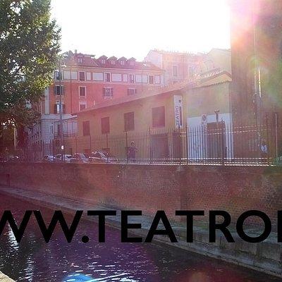 Teatro i visto dalla Conca di Leonardo Da Vinci