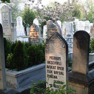 Tombstones in Ucler Cemeterie