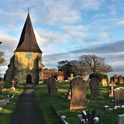 3.  The Parish Church of All Saints, Mountfield, Kent