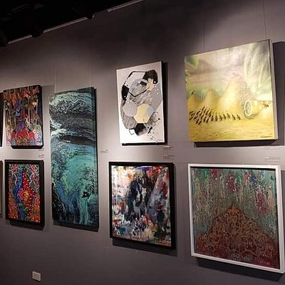 Artworks from multi-awarded artists