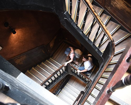 Staircase to the uppermost floor