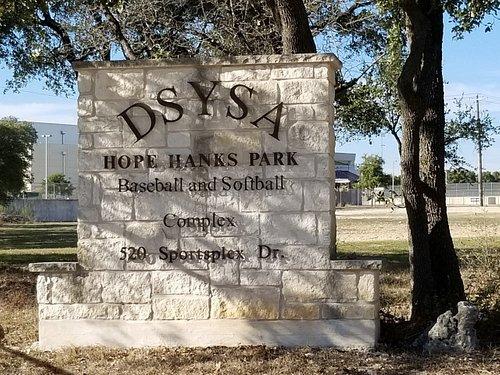 DSYSA Hope Hanks Park, Dripping Springs, TX.  Jan 2019