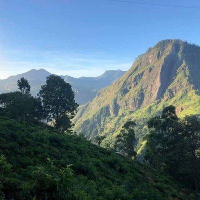 Location :- Mini Adam's peak at Ella Sri Lanka Dont miss this sun ruse if you are in Ella.