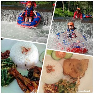Bali Tubing Adventures Location at Tampaksiring Village Pekerisan River the place from Ubud only 15 minutes to the Bali Tubing  Special price WA only : +6285792660649