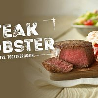 Visit us today for the best combination of steak & lobster!