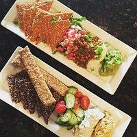 Mediterranean Platter and Nacho Platter