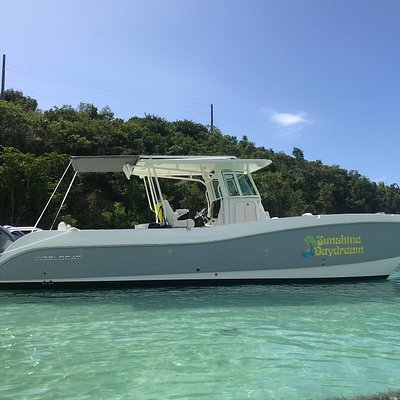Sunshine Daydream II is our brand new 2020 World Cat 32ft center console!
